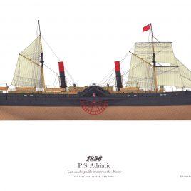1856, S.S. Adriatic