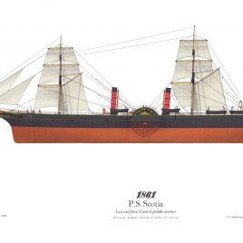 1861, R.M.S. Scotia