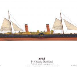 1893, P.S. Marie-Henriette