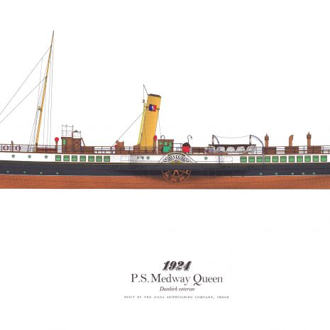 BC12 P.S. Medway Queen