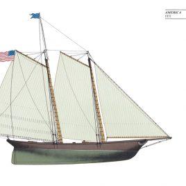 America, 1851