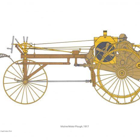 BH 15 Moline Motor Plough