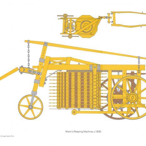 BH01 Mann's Reaping Machine