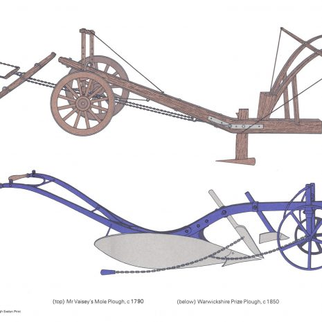 BH03 Mr Vaisey's Plough & Warwickshire Plough