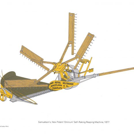 BH09 Samuelson's Reaping Machine