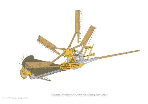 Early Agricultural Machinery 1700-1920