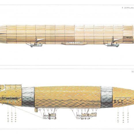 BJ 06 Zeppelin 1911 and Schutte Lanz 1911 copy