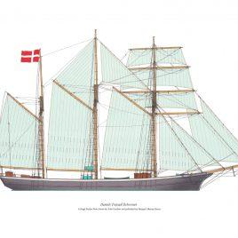 Danish Topsail Schooner