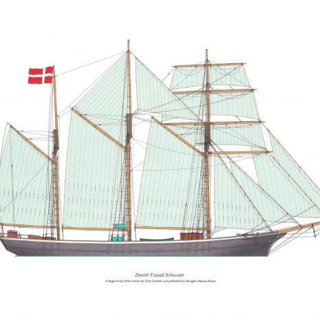 BK 03 Danish Topsail Schooner