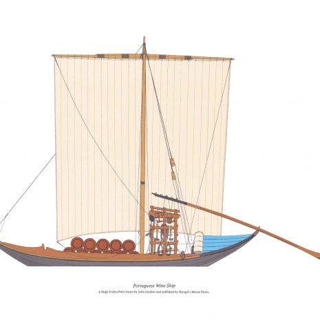 BK 06 Portuguese Wine Ship