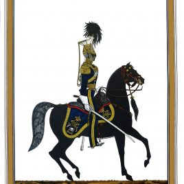 Captain Morris The 17th Lancers Review Order, 1854