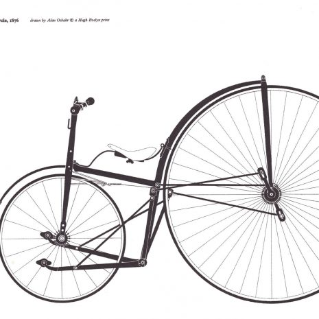 MA 04 Lawson Lever Safety Bicycle