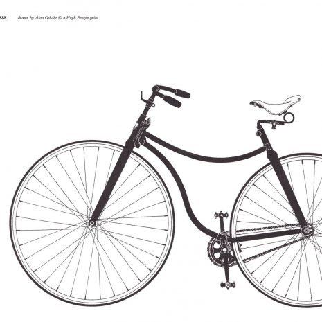 MA 10 Starley Rover Bicycle