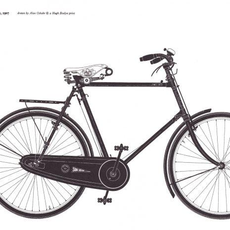 MA 12 Golden Sunbeam Bicycle