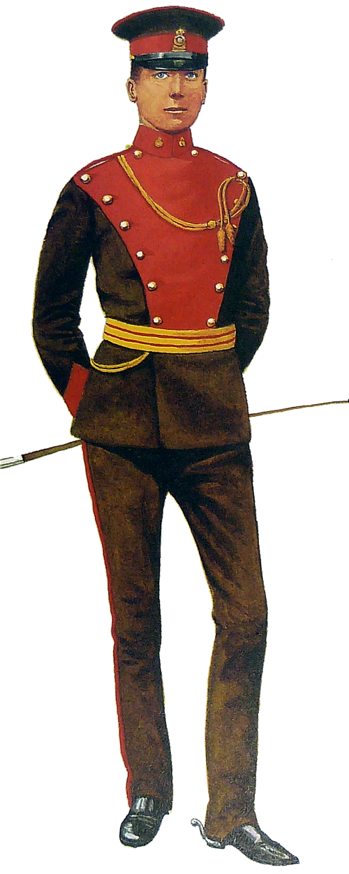 Yeomanry Regiments 1783-1911