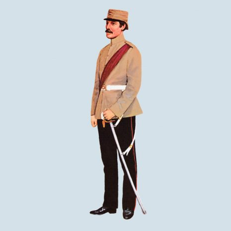 ATIII05 Officer, 1st European Bengal Fusiliers, 1858