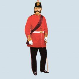 Major, 10th Foot, 1864 (Lincolnshire Regiment)