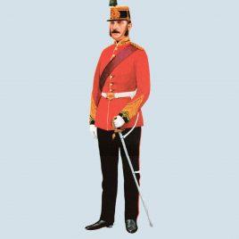 Lieutenant-Colonel, 68th Light Infantry, 1870 (Durham Light Infantry)