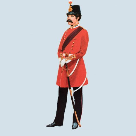 ATIII 03 1856 Captain, 17th Foot Royal Leicestershire Regiment 1856