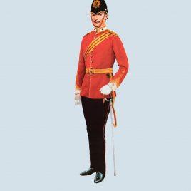 Captain, Duke of Cornwall's Light Infantry, 1897