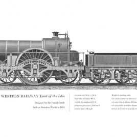 Great Western Railway 4-2-2 'Lord of the Isles'
