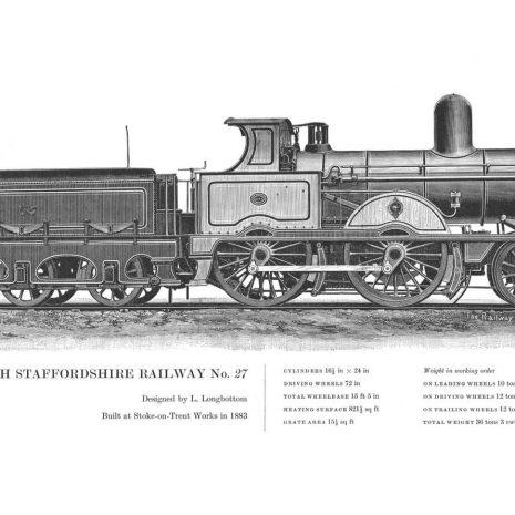 RA07 North Staffordshire Railway No 27