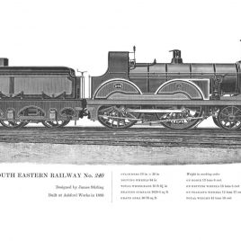 South Eastern Railway 4-4-0, No. 240