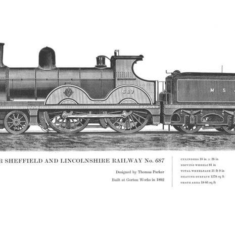 RA15 Manchester Sheffield and Lincs No 687