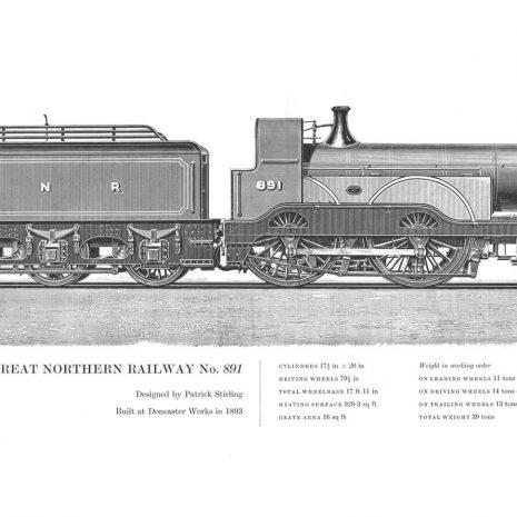 RA17 Great Northern Railway No 891