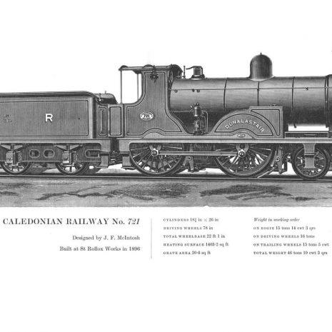 RA20 Caledonian Railway No 721