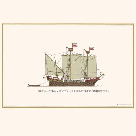 TGS03 3-Masted Scandinavian Halk