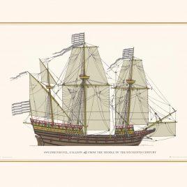 Swedish Kravel Galleon