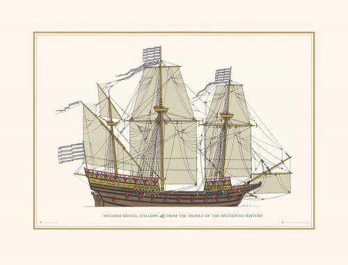 Swedish Kravel Galleon