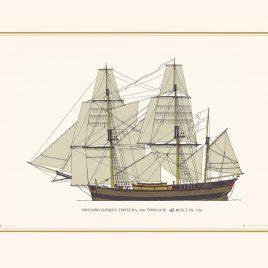 Swedish Barque, 300 tons DW, Fortuna
