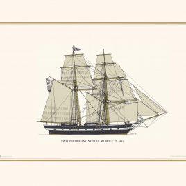 Swedish Brigantine, Bull
