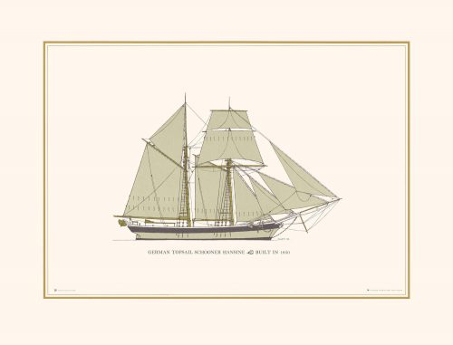 German Schooner Topsail