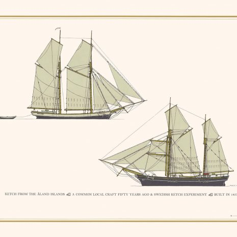 TGS27 Ketch from Åland and Swedish Ketch