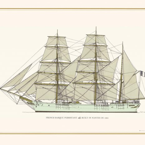 TGS32 French Barque 'Persistant'