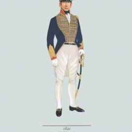 Cornet, The Wiltshire Yeomanry (1820)