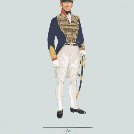 AZ05 1820 Cornet, The Wiltshire Yeomanry