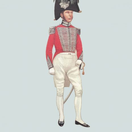 AZ06 1829 Officer, London and Westminster Volunteer Light Horse