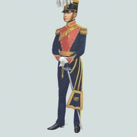 Officer, The West Somerset Yeomanry, 1854
