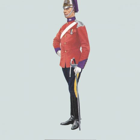 AZ19 1910 Trooper, 2nd County of London Yeomanry (Westminster Dragoons)