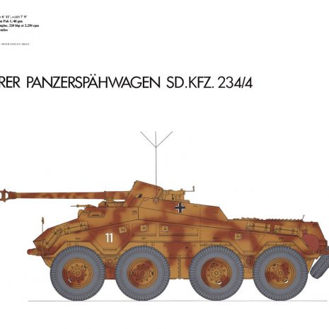 AY11 Schwerer Panzerspähwagen, Sd. Kfz. 234-4 (1944)