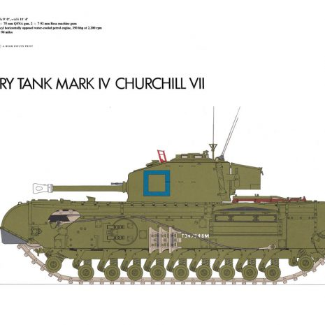 AY12 Infantry Tank Mark IV Churchill VII