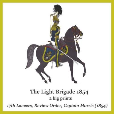 SOL CRA02 1854 17th Lancers, Review Order, Captain Morris