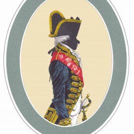 Admiral, Full Dress, 1787-1795
