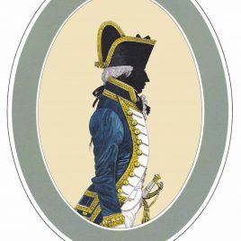 Captain, three years post, Full Dress 1787-1795