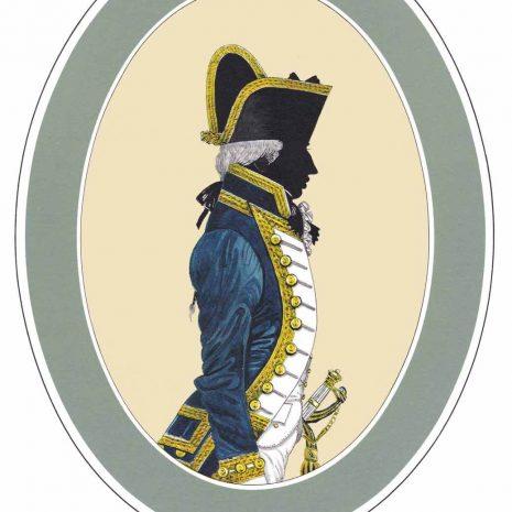 AR02 A Captain3 Years post Full Dress (1787-1795)