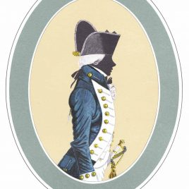 Lieutenant, Full Dress 1787-1812